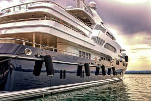 Anreise nach Monaco mit der Yacht