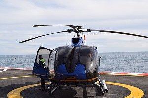 Anreise nach Monaco mit dem Helikopter