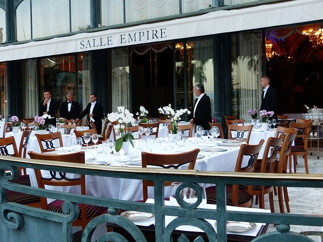 Salle Empire im Hotel de Paris