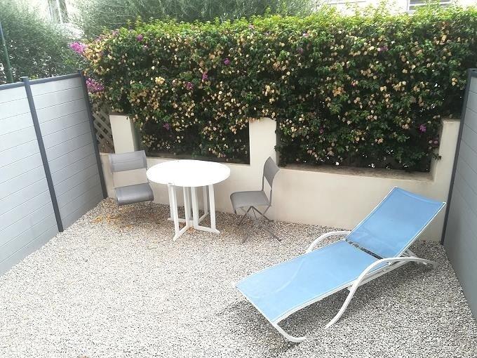Innenhof vom Hotelzimmer im Hotel Le Havre Vleu in Beaulieu-sur-mer